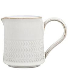 Denby Natural Canvas Stoneware Textured  Small Jug
