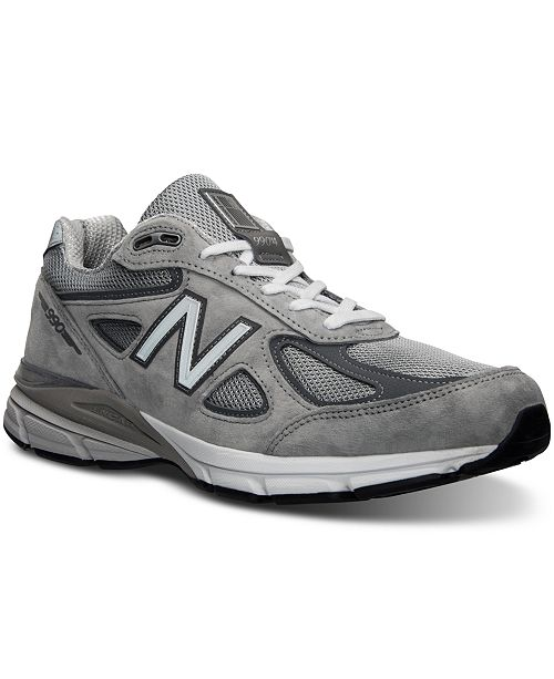 new product 59ea2 dc425 New Balance Men's 990v4 Running Sneakers from Finish Line ...