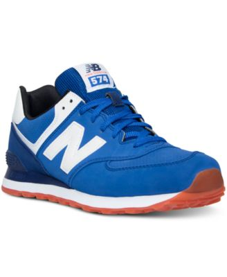 new balance 574 state fair blue