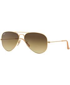 Ray-Ban ORIGINAL AVIATOR GRADIENT Sunglasses, RB3025 55