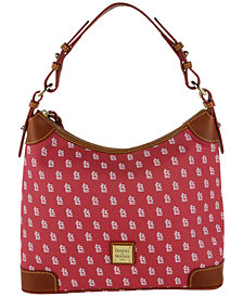 Dooney & Bourke St. Louis Cardinals Hobo Bag