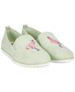 Bar Iii Opal Flamingo Slip-On Shoes, Created for Macy