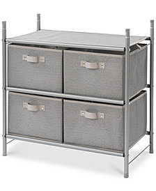 Neatfreak Harmony Twill Stackable 4-Bin Organizer