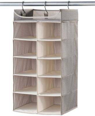 Delightful Neatfreak Harmony Twill 2 X 5 Shelf Closet Organizer