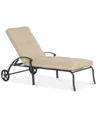 Park Gate Cast Aluminum Outdoor Chaise Lounge Created for Macyu0027s  sc 1 st  Macyu0027s : garden chaise lounge - Sectionals, Sofas & Couches