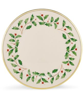 Lenox Holiday Dinner Plate  sc 1 st  Macyu0027s & undefined Dinnerware Holiday Collection - Fine China - Macyu0027s