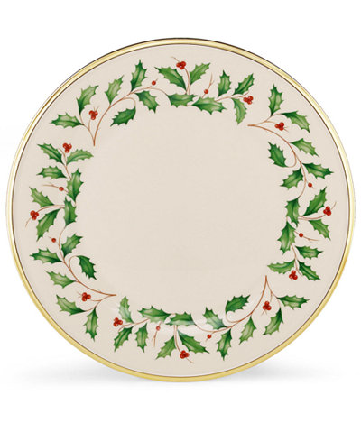 Lenox Holiday Dinner Plate Fine China Macy S