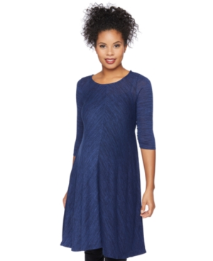 Motherhood Maternity Three-Quarter-Sleeve Dress plus size,  plus size fashion plus size appare