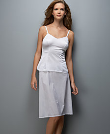 "Vanity Fair® ""Daywear Solutions"" Satin Glance Camisole & A-Line Half Slip, plus sizes available"