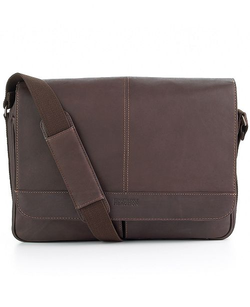 87aa9f29f Ben Sherman Colombian Leather Single Gusset Messenger Bag & Reviews ...