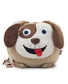 Big Joe Dawson the Dog Bean Bag with Toy, Quick Ship