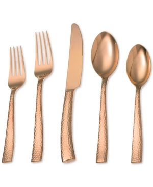 Argent Orfevres Hampton Forge Paris Hammered 5-Pc. 18/10 Stainless Steel Place Setting
