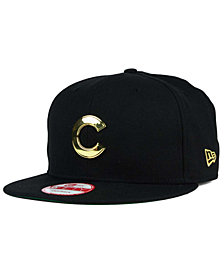 New Era Chicago Cubs League O'Gold 9FIFTY Snapback Cap