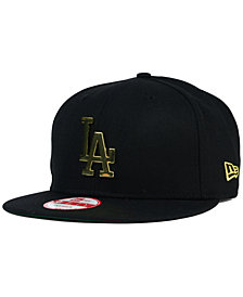 New Era Los Angeles Dodgers League O'Gold 9FIFTY Snapback Cap