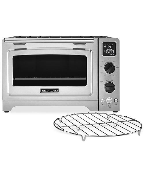 KitchenAid KCO273SS Stainless Steel Digital Convection Oven - Small on brinkmann oven, cuisinart oven, proctor silex oven, bosch oven, rollergrill oven, sanyo oven, montgomery ward oven, professional series oven, dometic oven, whirl pool oven, lg appliances oven, sub zero oven, black decker oven, wolf oven, delfino oven, wolfgang puck oven, 1950 gas stove and oven, small oven, painting a stove or oven, electrolux oven,