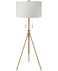 Decorator's Lighting Mantis Adjustable Tripod Floor Lamp