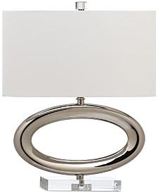 CLOSEOUT! Decorator's Lighting Gateway Horizontal Oval Table Lamp