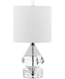 Decorator's Lighting Dutchess Diamond Accent Crystal Table Lamp