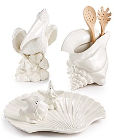 Cape Coral Figural Serveware Collection