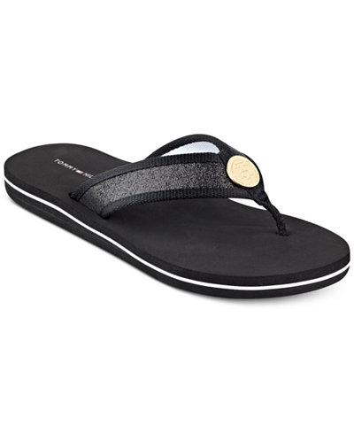 tommy hilfiger women 39 s clove flip flop thong sandals. Black Bedroom Furniture Sets. Home Design Ideas