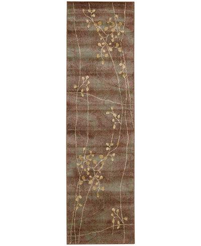 CLOSEOUT! Nourison Somerset Multi Blossom 2' x 5'9