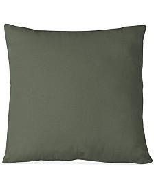 "Elrene Essex Knife Edge Linen Blend 18"" Square Decorative Pillow"