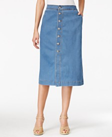 Denim Skirts: Shop Denim Skirts - Macy's