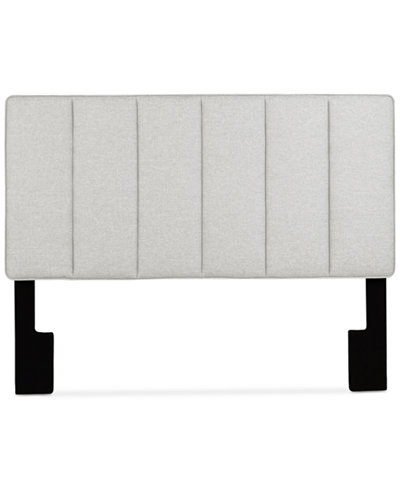 Closeout! Cohen King/California King Upholstered Headboard, Quick Ship