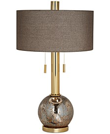Pacific Coast Empress Antique Mercury Table Lamp
