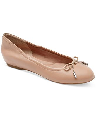 Rockport Total Motion Round Toe Ballet Flats