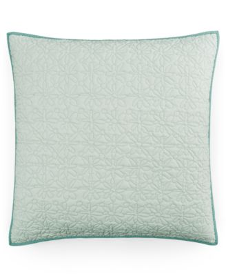 CLOSEOUT! Fern Solid Quilted European Sham
