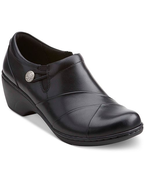 Clarks Collection Women's Channing Ann Flats Women's Shoes oP6ffHpi