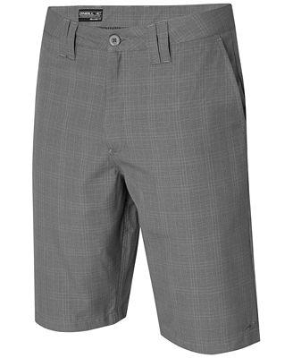 O'Neill Men's Delta Plaid Chino Shorts - Shorts - Men - Macy's