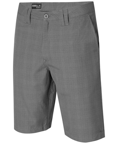 O'Neill Men's Delta Plaid Chino Shorts - Shorts - Men - Macy's