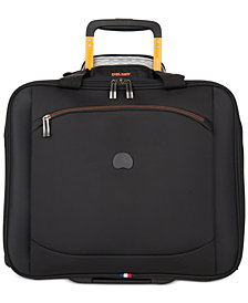 "CLOSEOUT! Delsey Hyperlite 2.0 14"" Trolley Rolling Carry On, Created for Macy's"