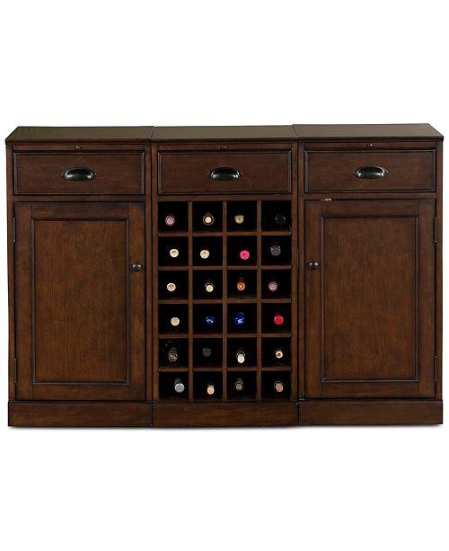 Furniture  Natalia 3-Piece Modular Bar, Quick Ship