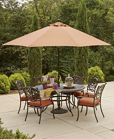 Commacys Outdoor Furniture : Chateau Outdoor Dining Collection - Furniture - Macys