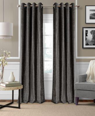 "Victoria Velvet 52"" x 84"" Thermal Curtain Panel"