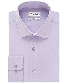Calvin Klein Men's Big & Tall X Extra-Slim Fit Performance Non-Iron Dress Shirt