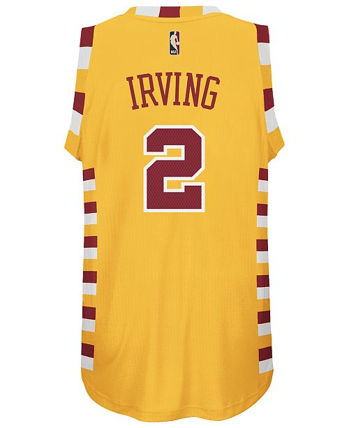 online store fc79c 217d6 adidas Men's Kyrie Irving Cleveland Cavaliers Hardwood ...