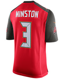 Nike Men's Jameis Winston Tampa Bay Buccaneers Limited Jersey