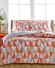 CLOSEOUT! Rikka 2-Piece Reversible Twin Comforter Set