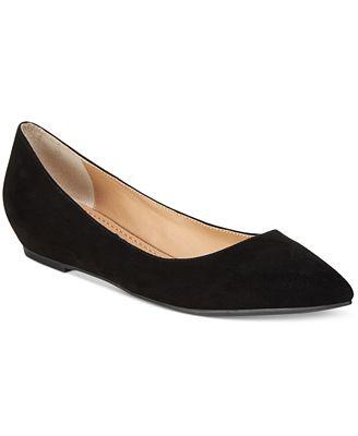 American Rag Emani Almond-Toe Flats, Created for Macy's
