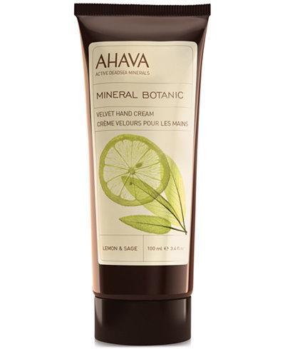 Ahava Mineral Botanic Velvet Hand Cream Lemon & Sage