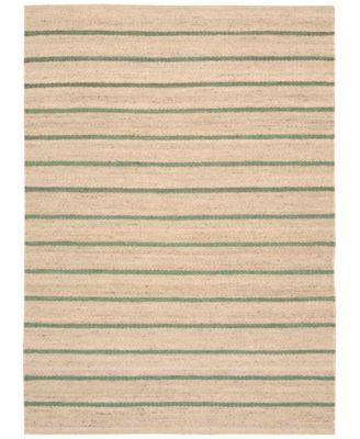 Home Paradise Garden Stripe 4' x 6' Area Rug