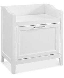 Hayde Storage Hamper Bench, Quick Ship
