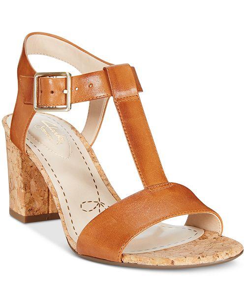 f9377674d544 Clarks Somerset Women s Smart Deva Dress Sandals   Reviews - Sandals ...