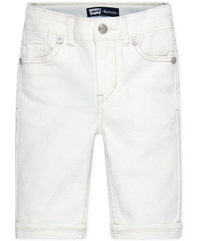 Levi's� Girls' Sweetie Denim Bermuda Shorts