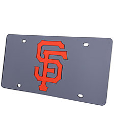 Rico Industries San Francisco Giants Acrylic Laser Tag License Plate Cover