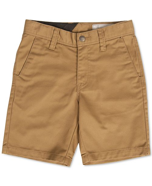 Volcom Frickin Chino Shorts, Big Boys